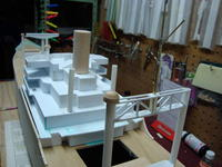 Name: DSC00035.jpg Views: 504 Size: 70.8 KB Description: The back tower all made with plastic much easier to get a good finish as compared with the traditional balsa construction.