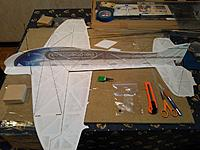 Name: Spies carbon placement small.jpg Views: 737 Size: 207.9 KB Description: I did this slightly differently vs. the earlier examples in this thread. 0.7 mm CF tube on the fuselage, 1.0 mm tube on wings and 1.5 mm tube LG.