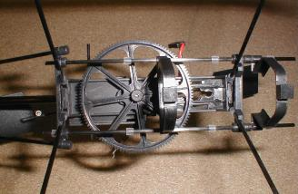 Looking from the bottom without the motor.