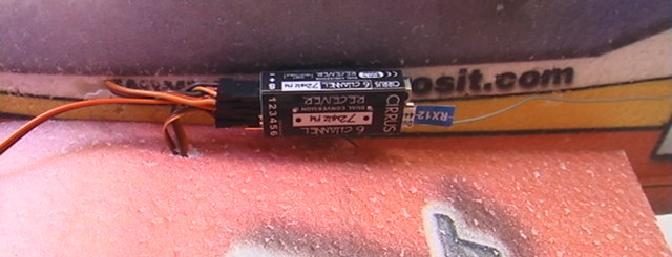 The Cirrus 6 channel mini dual conversion receiver