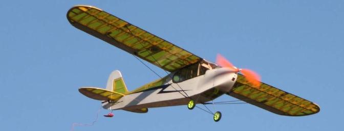 BP Hobbies Cub Park Flyer J-3 Review - RC Groups