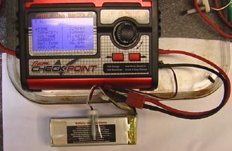 Note the LiPo charge screen shows the CC-CV charge type