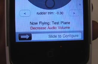Decrease the volume.