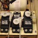 The Tactic TSX105 servos are excellent