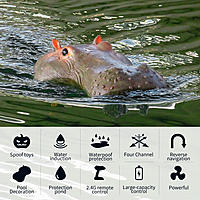 Name: Flytec_V305_Simulation_Floating_Remote_Control_Hippo_Boat_03.jpg