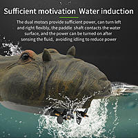 Name: Flytec_V305_Simulation_Floating_Remote_Control_Hippo_Boat_08.jpg