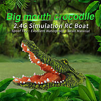Name: Flytec_V308_Simulation_Big_Mouth_RC_Crocodile_Boat_01.jpg