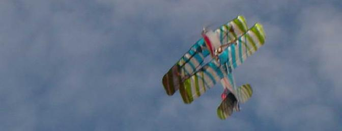 Cruising by overhead