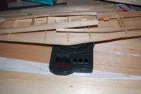 Name: DSC_5662m.jpg Views: 235 Size: 63.6 KB Description: Weight with one side of the stab sheeted and minor balsa additions: 51 grams (1.8 oz)