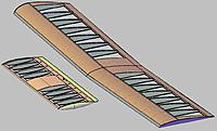 Name: New wing and horizontal stab.JPG