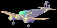 Name: Cessna Bobcat 3D.png Views: 334 Size: 134.6 KB Description: Then it's time to slice it up onto parts that can be laser cut.