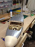 Name: IMG_0849.jpg Views: 410 Size: 405.3 KB Description: started covering the fuselage. Top and bottom are done in this pic.