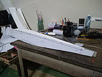 Name: editor_images%2F1547128355446-templates1.jpg Views: 12 Size: 267.9 KB Description: Cutting the fuselage using the side view. The cabin and the vertical stabilizer have been removed from the template.