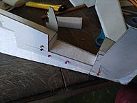 Name: editor_images%2F1547129326860-IMG_20181215_164940.jpg Views: 9 Size: 157.9 KB Description: Horizontal stabilizer housing cut using cardboard template