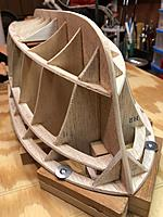 Name: image2.jpg Views: 33 Size: 3.40 MB Description: Due to the quality of the wood, I only used the hull parts from the kit. The rest I would discard or use for templates
