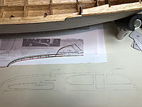 Name: side3.jpg Views: 25 Size: 767.2 KB Description: Creating a drawing to use as a template for the cabin sides. 1950 vs 1951 Sterling kit.