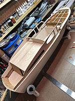 Name: 1a.jpg Views: 27 Size: 574.9 KB Description: Starting to lay out the interior. Making walls and bulkheads. The interior will be a little narrower that it should be because of the kits hull sections.