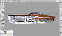 Name: 4-1.jpg Views: 27 Size: 1.40 MB Description: This is my open design  based on the 1940 42' DSEB hull. My goal was to create a design that had that late art deco feel as if it could have been built in 1940.