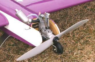 but, don't let the small size fool you! It really flew the plane well.