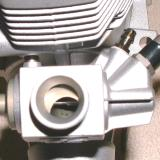 New 70D carb with angled high-speed needle.