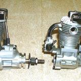 Saito 1.25 on the left. Saito .91 on the right.