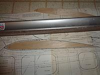 Name: DSC00498.JPG Views: 26 Size: 709.9 KB Description: The new airfoil vs the original Davis airfoil on the plans.  Note the claim to fame (IMO) for the Davis high lift airfoil is the B-24.