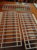 Name: DSC00519.JPG Views: 33 Size: 696.5 KB Description: The other 3 panels.  Carbon tubes not glued in yet.
