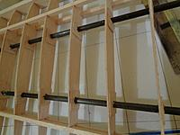 Name: DSC00529.JPG Views: 35 Size: 594.9 KB Description: Outer panel rods installed and balsa reinforcements in place.