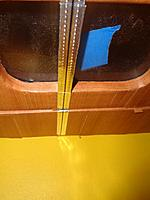 Name: DSC00045.JPG Views: 18 Size: 668.7 KB Description: The door line on the inside.  Will have a similar strip on the outside to mark the door and fuselage side.