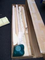 Name: 100_4286 (Small).jpg Views: 138 Size: 23.8 KB Description: Box chock full of goodies, wood is straight and mostly ply and hardwood (spruce and bass), not a great deal of balsa in this one...