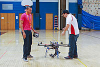Name: npmac2013funfly-18.jpg Views: 44 Size: 240.1 KB Description: Greg and Paul from Sky Vue gave an impressive multirotor demo.