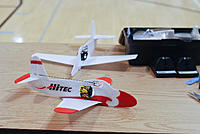 Name: npmac2013funfly-37.jpg Views: 48 Size: 218.2 KB Description: Mike C's micro jets. Mike donated one to the club and we can't wait to build it.