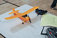 Name: npmac2013funfly-65.jpg Views: 33 Size: 212.7 KB Description: Another very popular plane was the Champ. They're so easy to fly and almost a must-have for an indoor flying fleet.