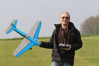 """Name: IMG_3412.jpg Views: 4 Size: 111.7 KB Description: Skystreak 39 is a direct scale up of the old 26"""" Keil Kraft control-line stunter from the 1950s."""