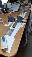 Name: 20191202_134634.jpg Views: 21 Size: 180.8 KB Description: Wing lamination all weighted down