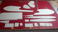 Name: IMG_20150522_104106_464.jpg Views: 334 Size: 388.6 KB Description: Fin hand cut and all parts removed from original sheeting