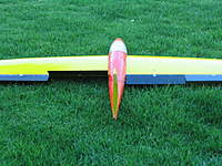 Name: IMG_2601.jpg Views: 116 Size: 81.7 KB Description: Showing rudder activated because it's a flaperon v-tail set up on my Spectrum.