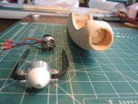 Name: IMG_0218.jpg Views: 1786 Size: 70.5 KB Description: Front view showing the firewall set at the aft end of the stock nose block.