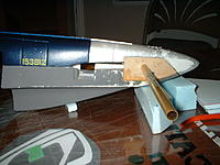 Name: 10-29-2012.jpg Views: 58 Size: 132.5 KB Description: ply plates added to sides for structure, brass tube used for alignment.  Will cut pieces from the tube to use as bushings