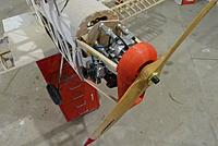 Name: m_P1050537.jpg Views: 52 Size: 25.9 KB Description: setting up the motor and aluminium cowl with the 45cc gas motor
