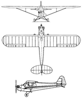 the 3 view drawing i work from