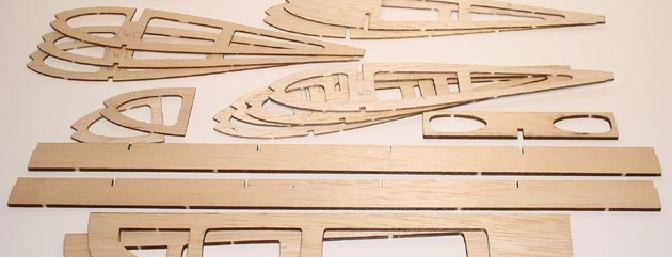 Laser cut wing parts!