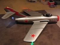 Name: MIG 001.jpg Views: 123 Size: 54.7 KB Description: Mig #2 with Nav lights and anti collision