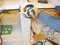 Name: Lib rebuild 002.jpg Views: 58 Size: 233.9 KB Description: Plastic strip and servo screw to secure motor/esc wires. Did all 4 motors