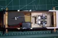 Name: GRACE 2.jpg Views: 281 Size: 62.6 KB Description: Radio installation with the new HS-65HB servos.
