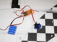 Name: P1060610.jpg Views: 118 Size: 136.5 KB Description: centering and cutting the wing servo pockets and wire channels.