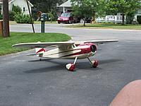 Name: m_DSCF2935.jpg Views: 49 Size: 88.4 KB Description: Hostetler Cessna 195, from Precision Cut Kits.