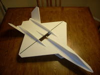 Name: YF-23 prototype build pics 010.jpg Views: 970 Size: 60.0 KB Description: Pretty much done.