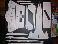 Name: JTechLaser SR-71 build pics 001.jpg Views: 1913 Size: 61.6 KB Description: All parts laid out.