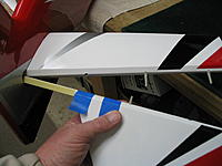 Name: IMG_5690.jpg Views: 174 Size: 124.6 KB Description: Slide the whole assembly out and prepare for glue. You now know the whole assembly will go in this way. On some planes this is not the case. Always mock-up.